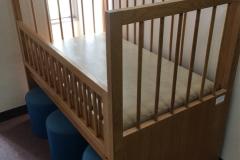 板橋区立 小茂根図書館(1F)のオムツ替え台情報
