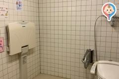 昭林公民館(1F)のオムツ替え台情報