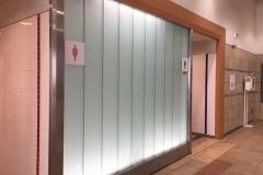 二子新地駅(1F 多目的トイレ)のオムツ替え台情報