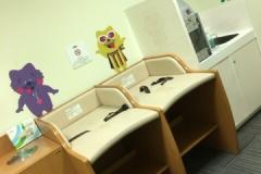 あまがさきキューズモール(3F北西側トイレ横)の授乳室・オムツ替え台情報