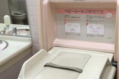 ライフ東有馬店(2F 女子トイレ内)のオムツ替え台情報