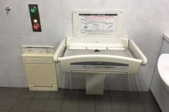 羽村駅(改札内)(2F)のオムツ替え台情報