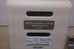 バースディ 栢山店の授乳室・オムツ替え台情報