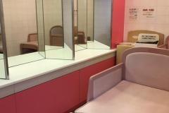 パンプ江戸崎ショッピングセンター(2F)のオムツ替え台情報