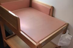 九十九島温泉花みずきサスパ(多目的トイレ内)のオムツ替え台情報