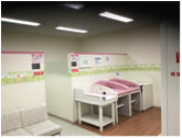 イオン光店(2階 赤ちゃん休憩室)の授乳室・オムツ替え台情報