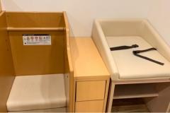 MOMOテラス(1F)の授乳室・オムツ替え台情報