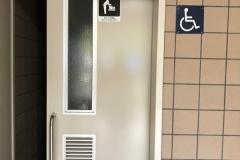 岡寺トイレ(1F)のオムツ替え台情報