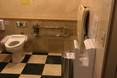 ホテルザセレスティン東京芝(1F)のオムツ替え台情報
