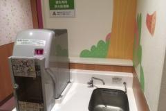 イオンモール甲府昭和店(3F)の授乳室・オムツ替え台情報