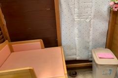 カフェ キウイ(1F)のオムツ替え台情報