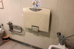 大和高田さざんかホール(1F)のオムツ替え台情報