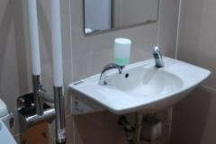 ウエルシア 真岡荒町店(多機能トイレ)のオムツ替え台情報