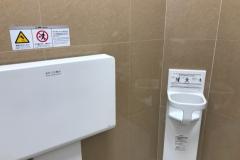 ファッションセンターしまむら南金田店(2F)のオムツ替え台情報