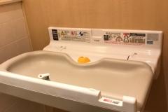 北千住マルイ 女子トイレ(2F)のオムツ替え台情報