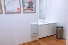 UNIQLO OSAKA(3F)の授乳室・オムツ替え台情報