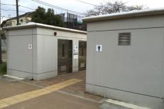 池袋本町電車の見える公園のオムツ替え台情報