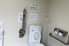 上谷津公園のオムツ替え台情報