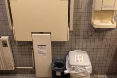 和楽 回転寿司(1F)のオムツ替え台情報