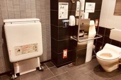 九段下駅(改札内)のオムツ替え台情報
