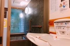 秋川渓谷瀬音の湯(1F)のオムツ替え台情報