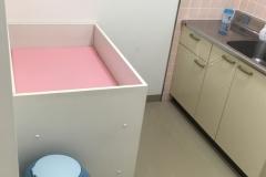 西松屋 三沢店(1F)の授乳室・オムツ替え台情報