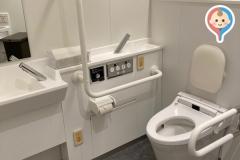 角川武蔵野ミュージアム Kadokawa Musashino Museum(5F)のオムツ替え台情報