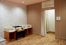 モラージュ菖蒲(1階 マツモトキヨシ裏)の授乳室・オムツ替え台情報