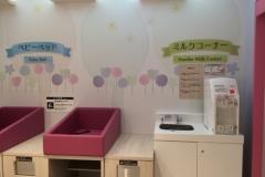 イオンモール津南(3F)の授乳室・オムツ替え台情報
