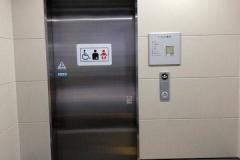 東武東上線 下板橋駅 ( 改札内 池袋方面行きホーム )のオムツ替え台情報