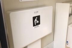田端台公園(1F だれでもトイレ)のオムツ替え台情報