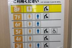 ジュンク堂書店 藤沢店のオムツ替え台情報