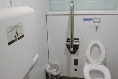 表参道ヒルズ 公衆トイレ(1F)のオムツ替え台情報