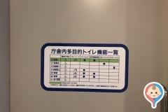 富山市役所(1F)の授乳室・オムツ替え台情報