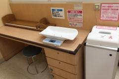 イオンモール大和(3階 赤ちゃん休憩室)の授乳室・オムツ替え台情報