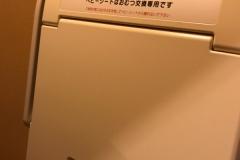 リバーリトリート雅樂倶(1F)のオムツ替え台情報