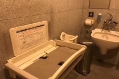 コレド室町(1階多目的トイレ)(1F)のオムツ替え台情報