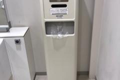 ミサワホーム 横浜北オフィス(1F 多目的トイレ)のオムツ替え台情報