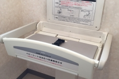 医療法人社団 美久会 岸山皮膚科(1F)のオムツ替え台情報
