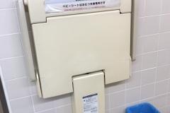 嵐山PA 上りのオムツ替え台情報