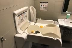阪急メンズ東京(6F)のオムツ替え台情報