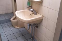 ピーコックストア 自由が丘店(1階〜2階の階段途中にある女性用トイレ)のオムツ替え台情報