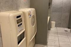 肉の万世 秋葉原本店(4F)のオムツ替え台情報
