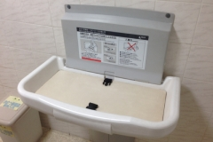 ヤマダ電機 テックランド安城店(1F)のオムツ替え台情報
