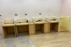 3Fフードコート付近授乳&オムツ替え室(3F)の授乳室・オムツ替え台情報