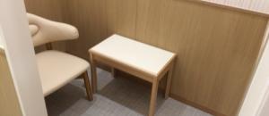 エイスクエア(2F 東棟)の授乳室・オムツ替え台情報