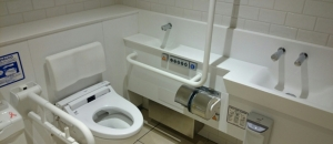 アトレwest area(3F 多目的トイレ)のオムツ替え台情報