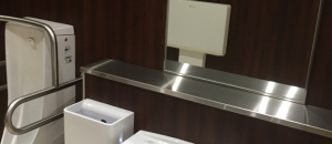 ヤオコー 千葉ニュータウン店(1F)のオムツ替え台情報