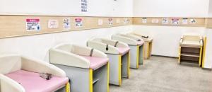 イオン市川妙典店(3階 赤ちゃん休憩室)の授乳室・オムツ替え台情報