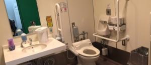 インテックス大阪(1F 多目的トイレ)のオムツ替え台情報